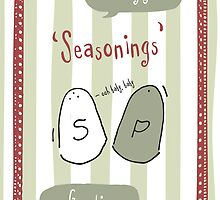 Seasonings Greetings by Laura Jane West