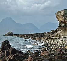 Elgol, Isle of Syke - looking across Loch Scavaig by Ardenslate
