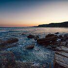 Churning on the rocks by David Byrne