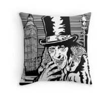 London After Midnight Throw Pillow