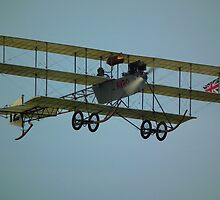 Avro Triplane  by mike  jordan.
