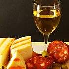 White, Cheese, Sausage and Olives 01 by photoshot44