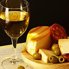 White, Cheese, Sausage and Olives 02 by photoshot44