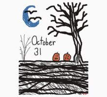 Halloween jack o lantern October 31  Kids Clothes