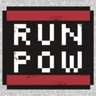 RUN POW - Mario pow block by GordonBDesigns