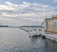 Blue Light At Pula Harbour -October 2012 by lynn carter