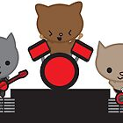 Kitty Cat Kawaii Band by ValeriesGallery