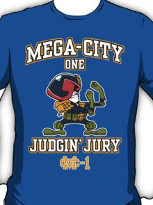 Mega-City One Judgin' Jury T-Shirt