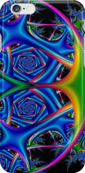 Space Harp Fractal 3 by Marvin Hayes
