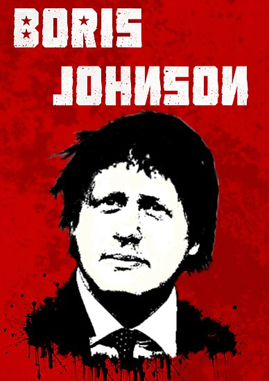 Boris Johnson / Che Guevara Black Hair by Matthew James