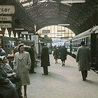 Copenhagen Railway Station  196104150109  by Fred Mitchell