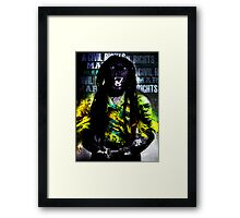 Political Prisoner Framed Print