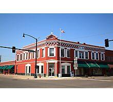 Route 66 - Sayre, Oklahoma Photographic Print