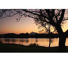 Mt. Warning at dusk ... Photographic Print