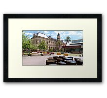 The Mortlock Library! North Terrace, Adelaide, Sth. Aust. Framed Print