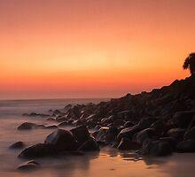 Sunrise Burleigh Heads by GayeL Art