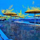 HTO Park Toronto - Umbrellas on the Beach by DiNovici