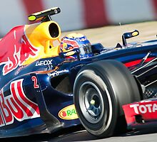 Mark Webber 2012 by SHUTTERBLADE