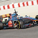 Jenson Button 2012 by SHUTTERBLADE