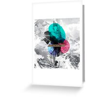 Ermes - the time is now Greeting Card