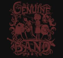 Adventure Time - Genuine Band by Justyna Dorsz