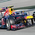 Mark Webber - Redbull 2012 by SHUTTERBLADE