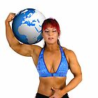 Pin up poster of Female Atlas by PhotoStock-Isra
