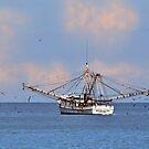Shrimping Boat At Pawleys Island by Kathy Baccari