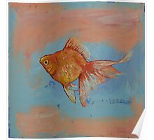 Ryukin Goldfish Poster