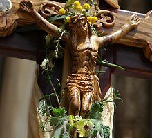 Wooden Christ  by PhotoStock-Isra