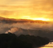 Pitlochry Dawn by Robin Brown