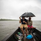 rain , lake, boat, drinks by Sajeev C Pillai