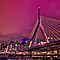 Zakim bridge, Boston MA by LudaNayvelt