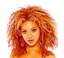 Beyonce - Destiny - Pop Art by wcsmack