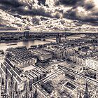 View over Cologne II by Markus Landsmann