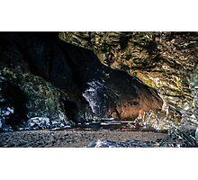 Under Tintagel Castle Photographic Print