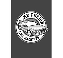 Back to the Future Mr Fusion Time Machines Photographic Print