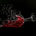 Broken Glass, Spilt Wine by kitandkaboodle