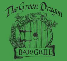 The Hobbit Green Dragon Bar & Grill Shirt Kids Clothes