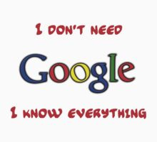 Who Needs Google by tappers24