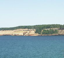 Pictured Rock Lakeshore by Bob Hardy