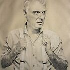 david byrne by Peter Brandt