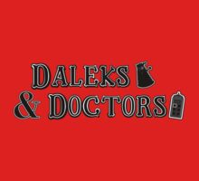 Daleks & Doctors by gerrorism