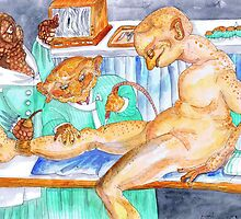 At the Phlebologist by Avril E Jean