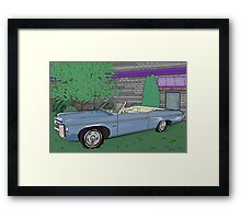 1969 Chevrolet Impala : Fast Cars & Cool Duco Framed Print
