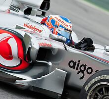 Jenson Button 2010 by SHUTTERBLADE