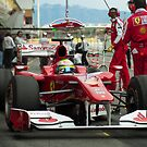 Felipe Massa 2011  by SHUTTERBLADE