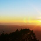Sunrise at Mt Warning by James Milton