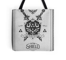 Legend of Zelda Hylian Shield Geek Line Artly  Tote Bag
