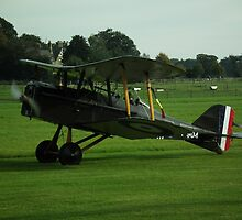 Royal Aircrft Factory SE5a by Andy Jordan